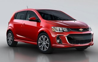 Chevrolet Sonic - billig billeje USA