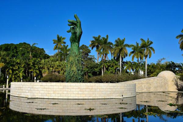 Miami Beach Holocaust Memorial Reflection Pond