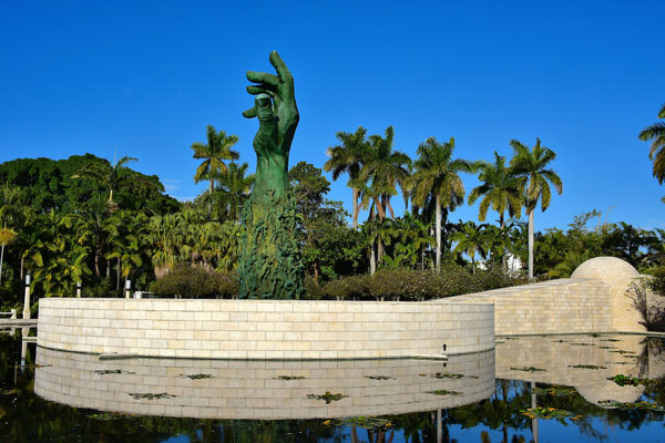 Miami Beach Holocaust Memorial Reflection Pond