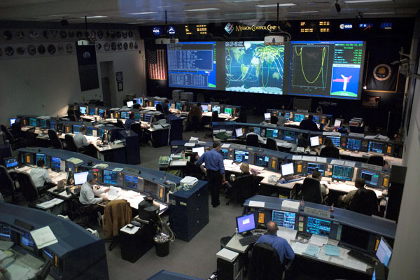NASA Launch Control Center