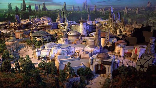Star Wars Disneyland & Disney World