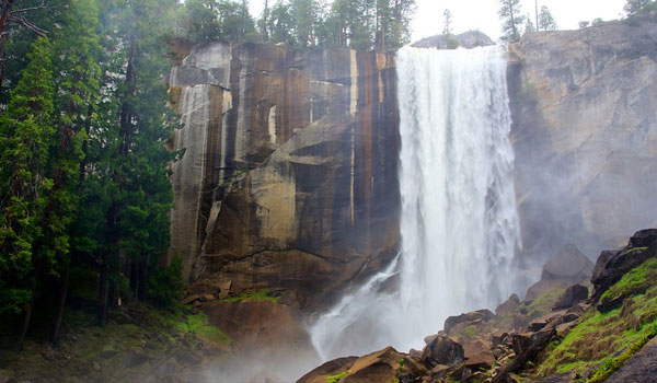 Vernal Falls California