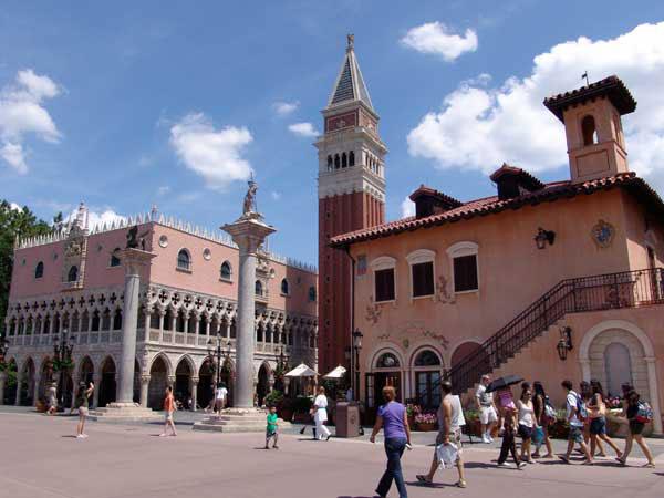 Italy World Showcase Epcot