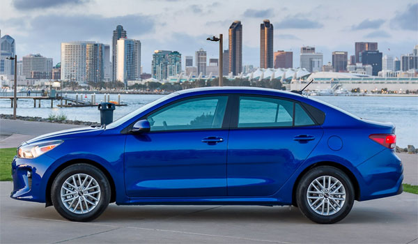 Kia Rio USA model 2018