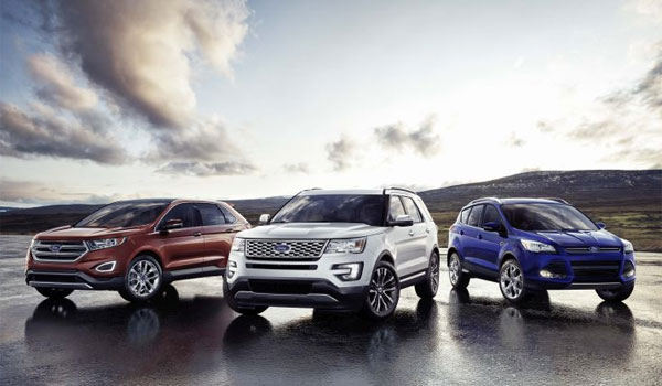 Ford Crossovers and SUVs line-up