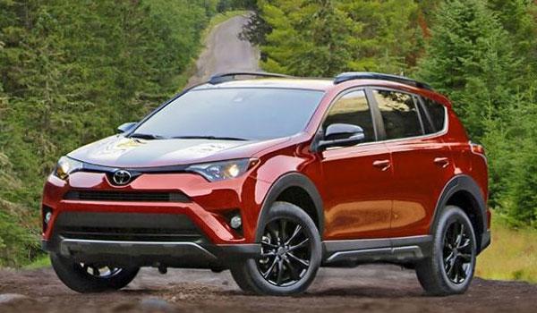 Toyota Rav4 SUV leje USA