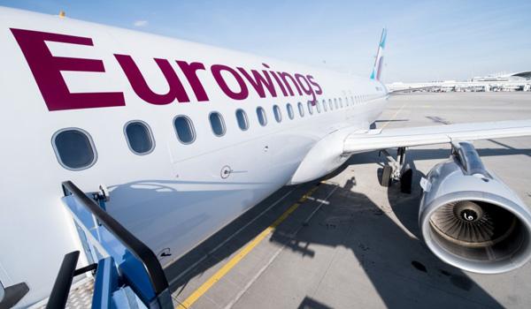 USA flyruter med Eurowings