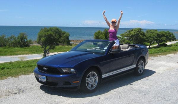 Le -Mustang Cabriolet Florida