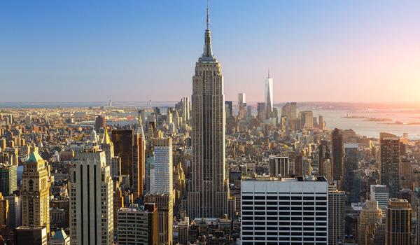 Toppen af Rockefeller Building