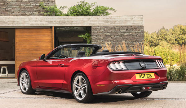 Ford Mustang EcoBoost 2,3 Convertible 2018