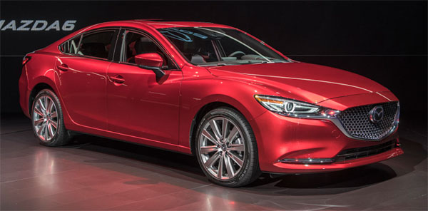 Mazda 6 Los Angeles biludstilling nyhed