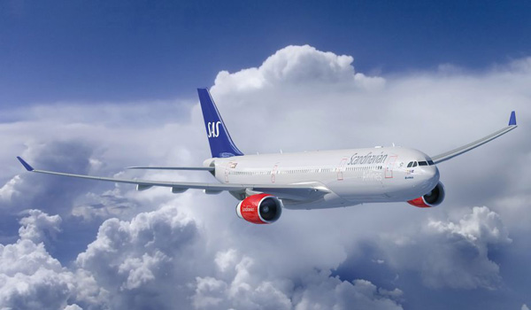 SAS Go Light flybilletter til USA