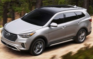 Hyundai Santa Fe car rental