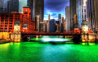 Chicago Flod Skt Patricks Day