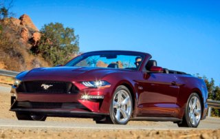 Lej Ford Mustang Cabriolet