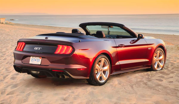 Lej Mustang USA