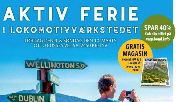 Aktiv Feriemesse Lokomotivvaerkstedet 2019 - Vagabond