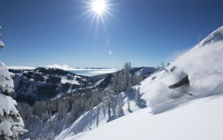 Lake Tahoe skisport Californien