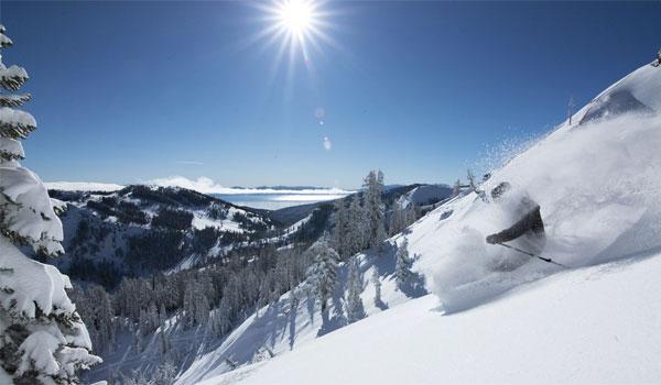Lake Tahoe skisport Californien