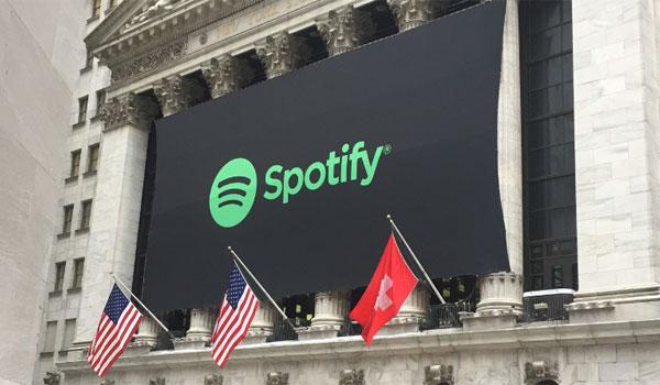 Spotify notering NYSE USA