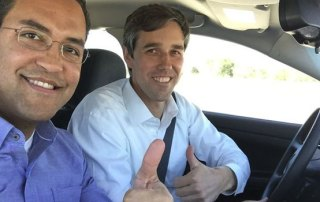 Will Hurd Beto O'Rourke car trip