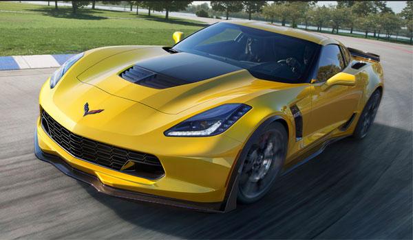 Lej en Chevrolet Corvette Z06