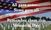 Memorial Day – amerikansk helligdag sidste mandag i maj