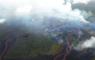 Vulkan danner syresky