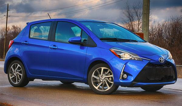 Toyota Yaris lejebil USA