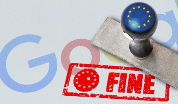 Google fine EU Margrethe Vestager