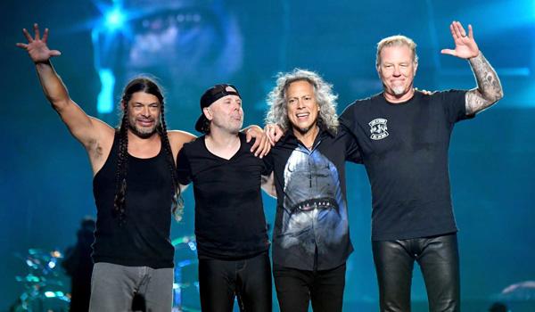 Metallica koncert i Parken