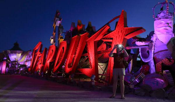 Neonmuseet i Las Vegas