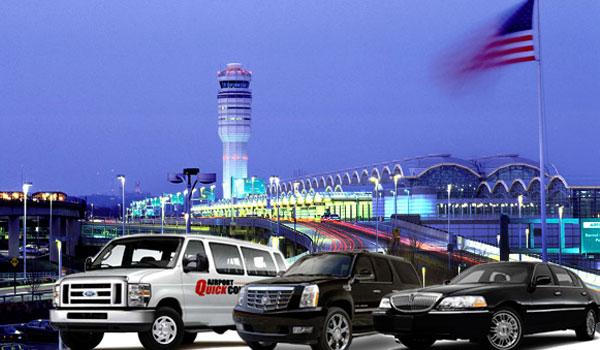 Lufthavnstransfer USA - taxi fra lufthavn til hotel