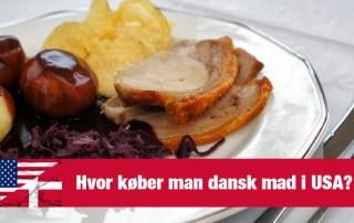 Hvor kan man købe dansk mad i USA?