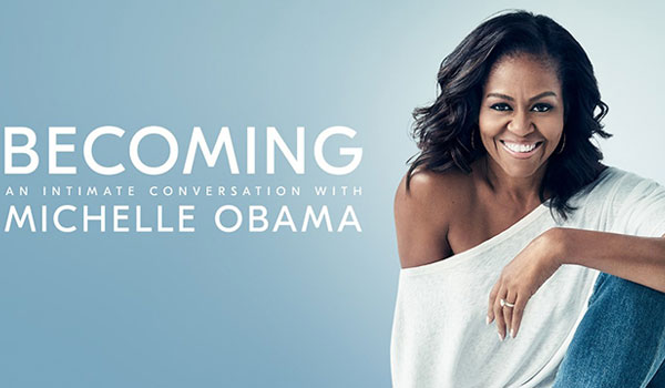 Michelle Obama promoverer dansk produkt