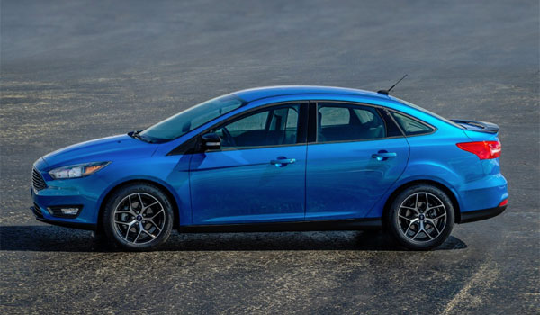 Ford Focus 4 door 2018 USA