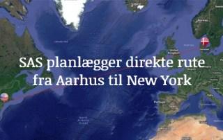 Aarhus New York direkte rute SAS