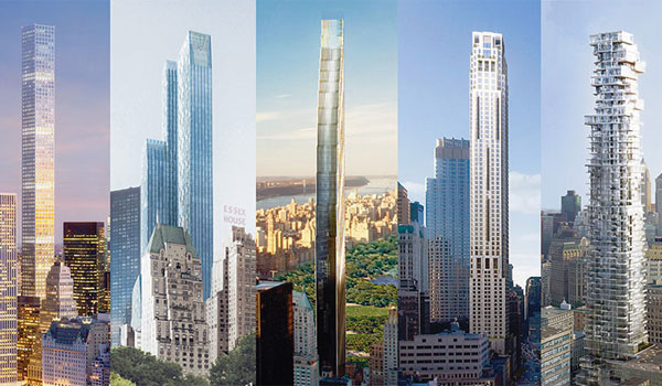 New York pencil towers