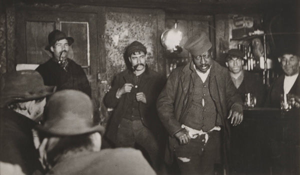 Jacob August Riis - New York A Downtown Morgue 1894