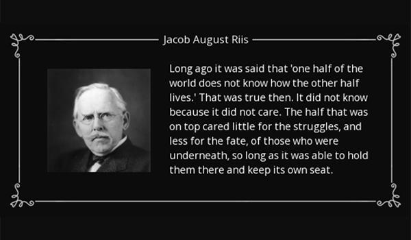 Jacob August Riis - stor dansker i USA
