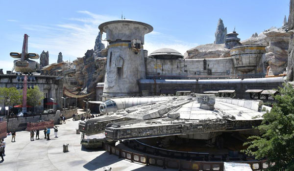 Star Wars i Disneyland