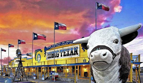 Big Texan Restaurant Route 66 Amarillo