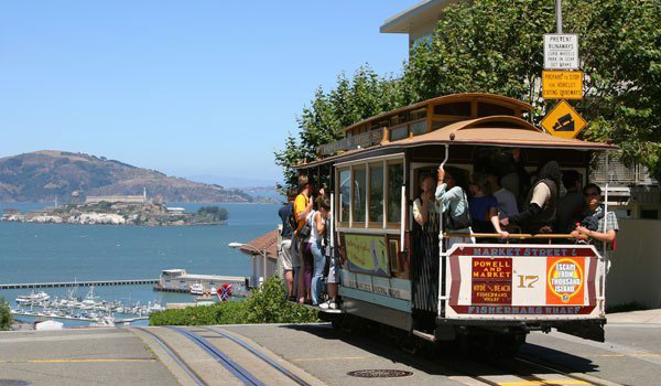 Kabelsporvogn - San Francisco oplevelser