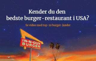 Bedste Burger USA - In-N-Out