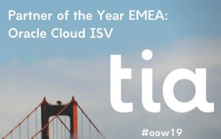 Oracle partner of the year - Tia Technology