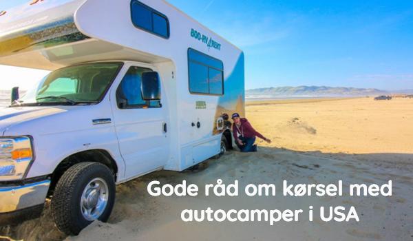 Kørsel med autocamper i USA