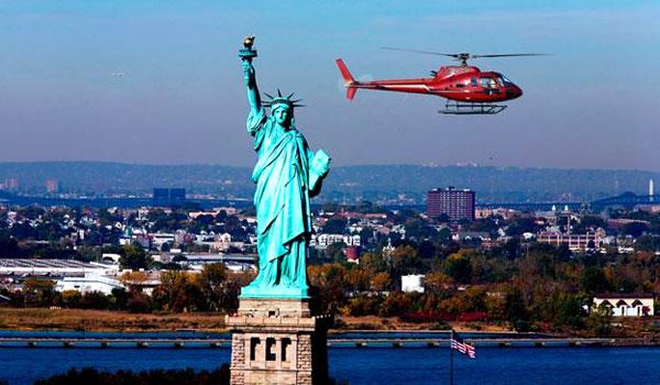 New York oplevelser helikopter