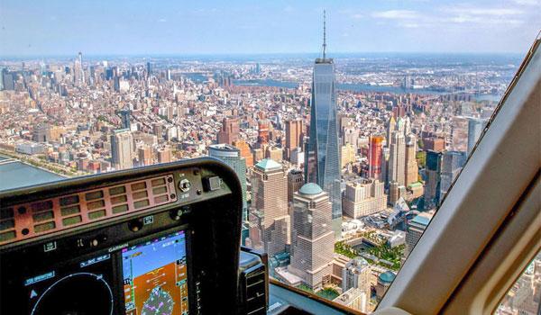 Oplev New York fra helikopter