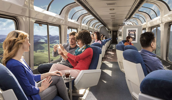 Amtrak Sightseer Lounge