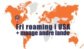 3LikeHome USA – Fri roaming i USA med telefoni og mobildata